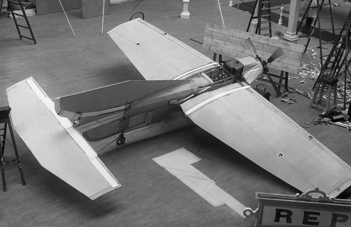 Olympia London 1909   R.E.P. monoplane     Flightglobal archive