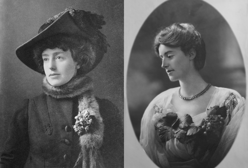 Eva Charlotte Bland and Lilian Emily Bland