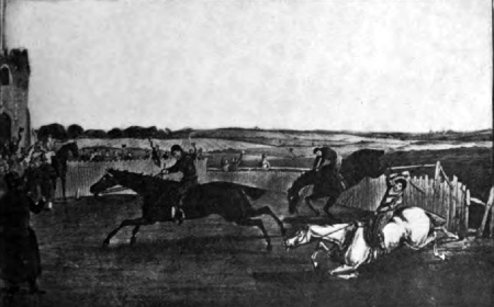 A steeplechase - fourth and last mile