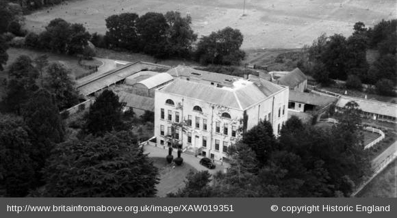 Turvey House, Donabate, Dublin, Ireland, 1948.Photo taken facing North.20th September 1948.